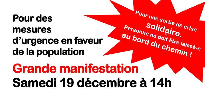 Manifestation 19 décembre