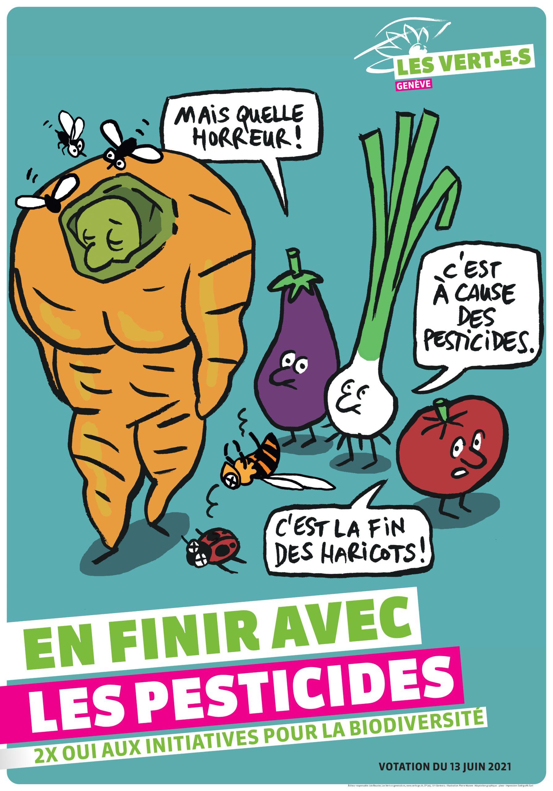 Affiche votation juin pesticides