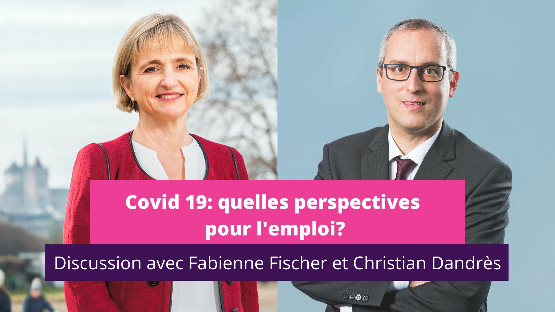 Facebook live - Fabienne Fischer et Christian Dandres
